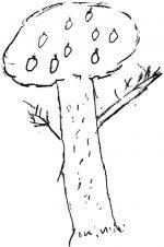 Детский рисунок дерева – Ой!