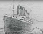 Титаник рисунки карандашом – Как нарисовать Титаник карандашом поэтапно?