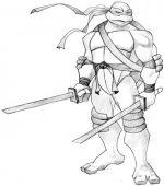 Нарисовать черепашку ниндзя поэтапно – Как нарисовать Черепашку-ниндзя