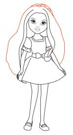 Рисунки карандашом куклы – Как нарисовать куклу карандашом поэтапно?