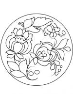 Рисунок для детей тарелка – Раскраска Тарелка — Распечатать бесплатно