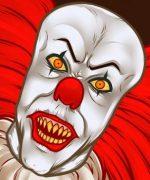Рисунок оно – Как нарисовать клоуна из фильма «Оно»?