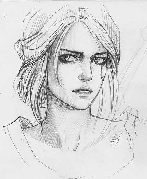 Научиться рисовать портреты простым карандашом