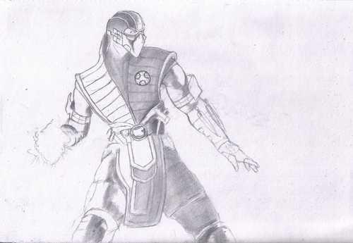 Как нарисовать мортал комбат х – Как рисовать Mortal ...