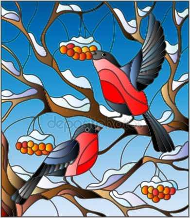 Картинка ветка рябины для детей раскраска – Раскраска ...