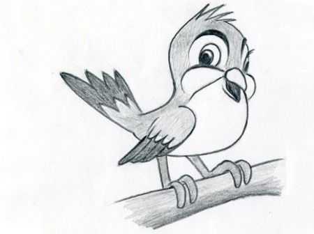 рисунки карандашом для срисовки очень легкие и красивые животные