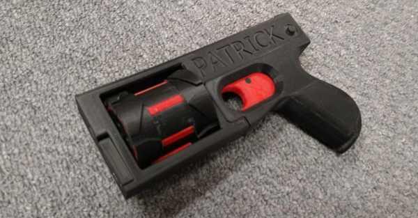 Распечатать пистолет – Раскраска Пистолет