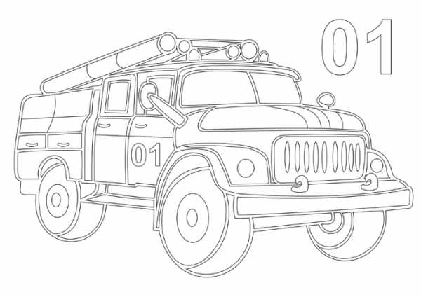 Рисунок детский машина – Ой!